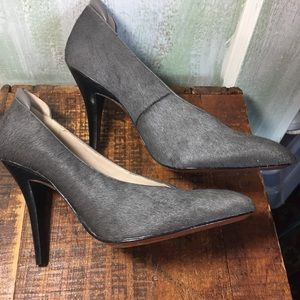 Derek Lam 10 Crosby grey Patty heels 6